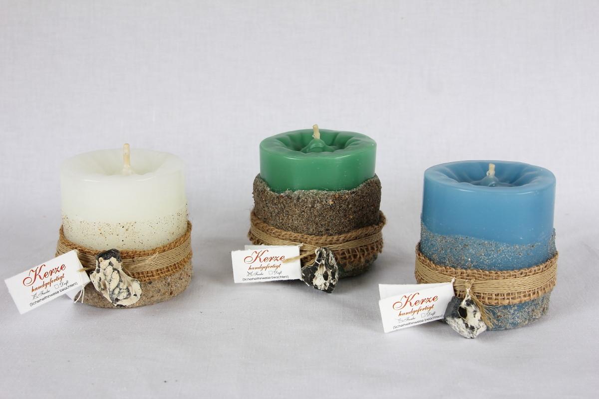 Handgefertigte Kerzen