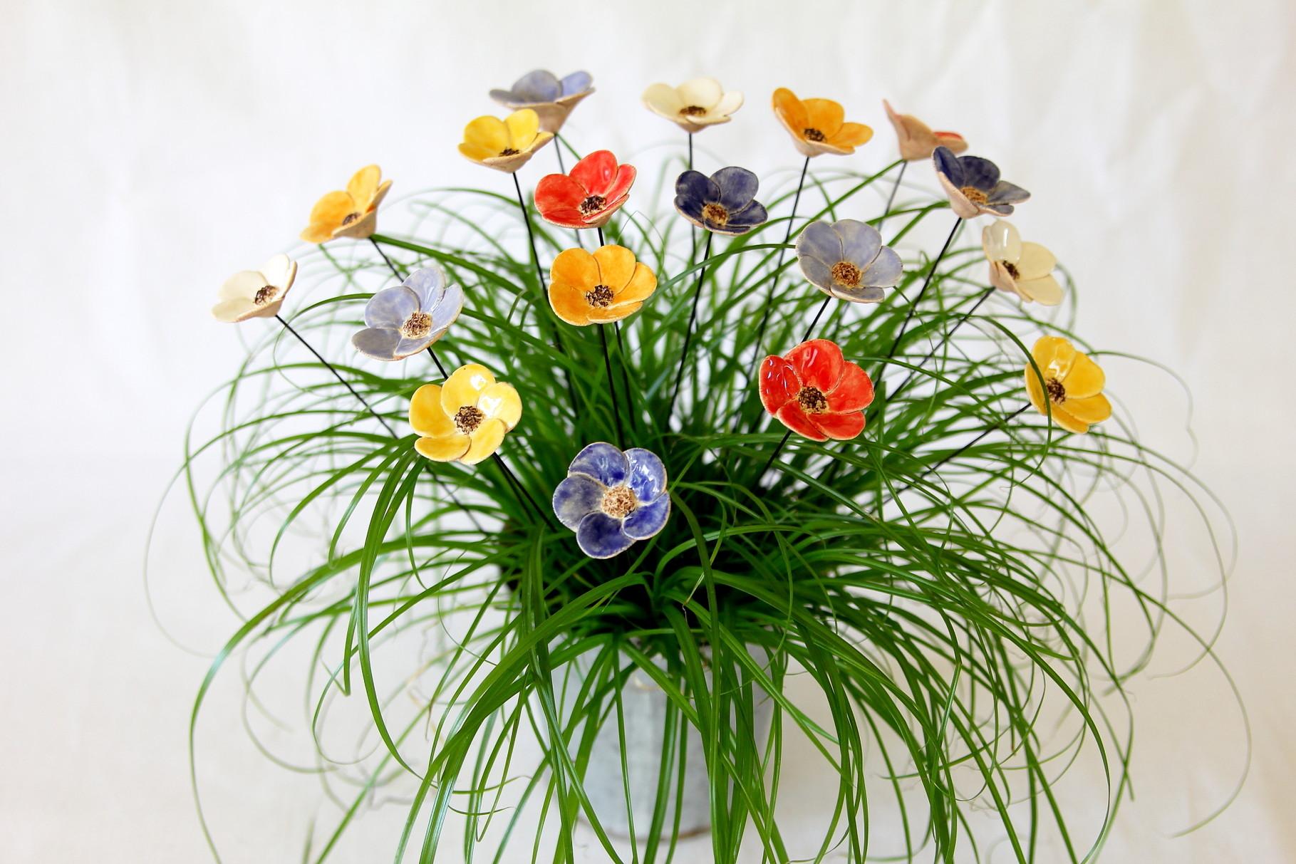 Blumen Stecker