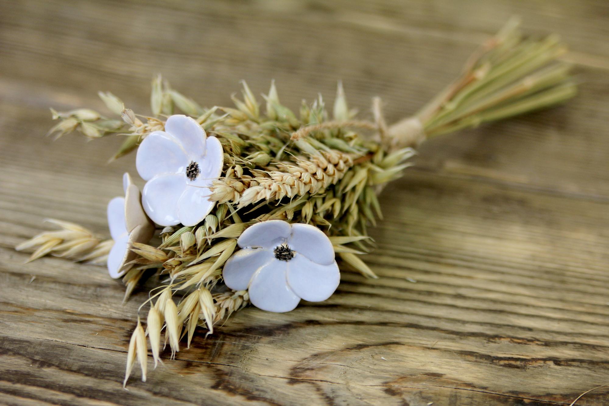Blumen, handgefertigt