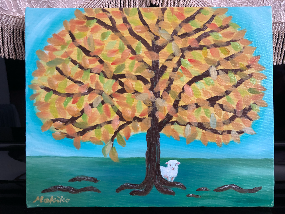 Little sheep, Cordero and a tree  コルデロ君と大きな木  Cordero y su árbol