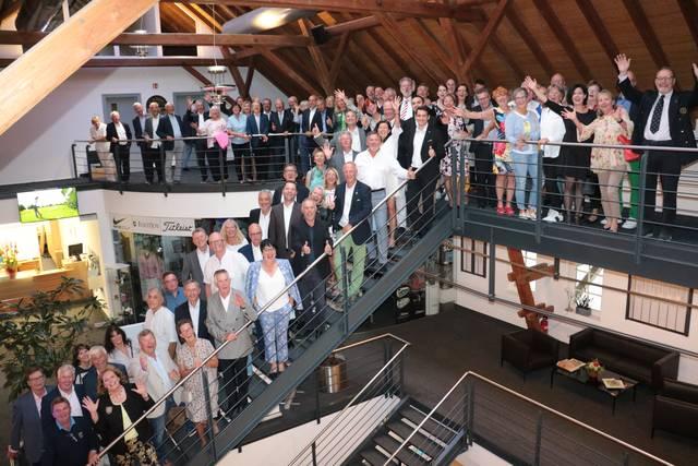 Alle geladenen Gäste des 6. BWGV Präsidenten-Cups im GC Domäne Niederreutin - © BWGV