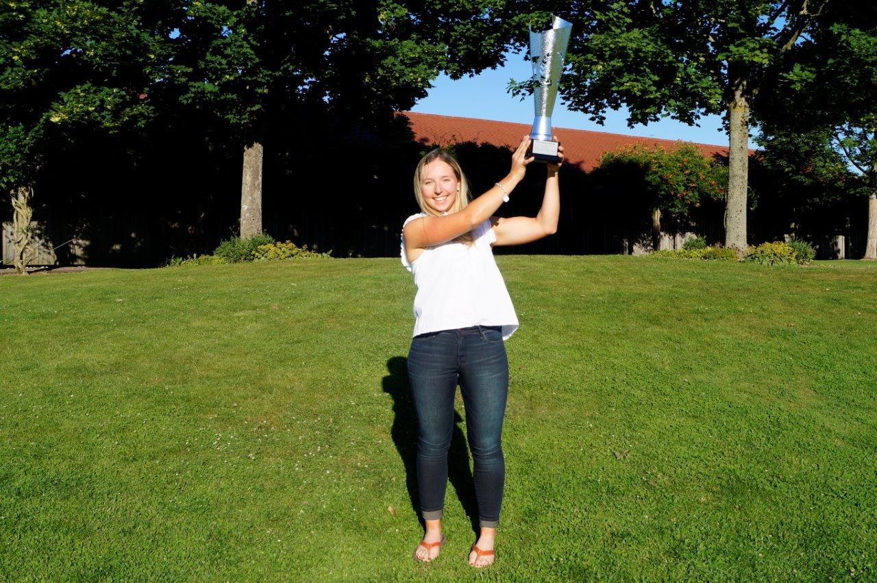 Gesamtsiegerin Patricia Isabel Schmidt vom GC Hetzenhof