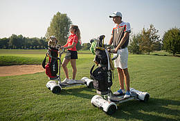Golfboards im Einatz - © GC St. Leon-Rot
