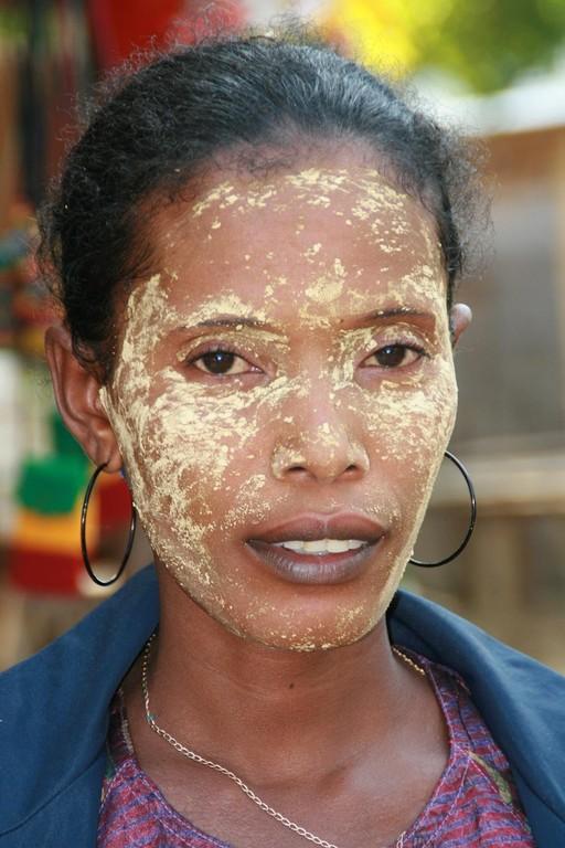 Masque de beauté à TOLIARA.