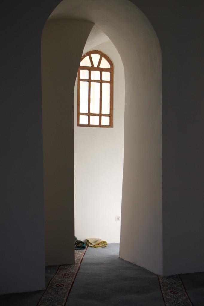 Dans une mosquée.