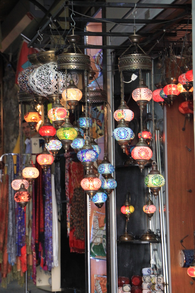 Grand bazar couvert.