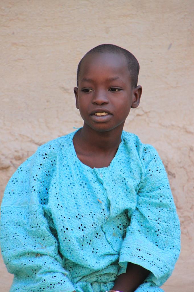Enfant dans une école coranique à DJENNE.