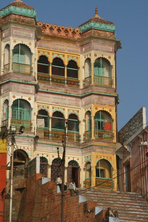 Temple Hindouiste à VARÂNÂSI.