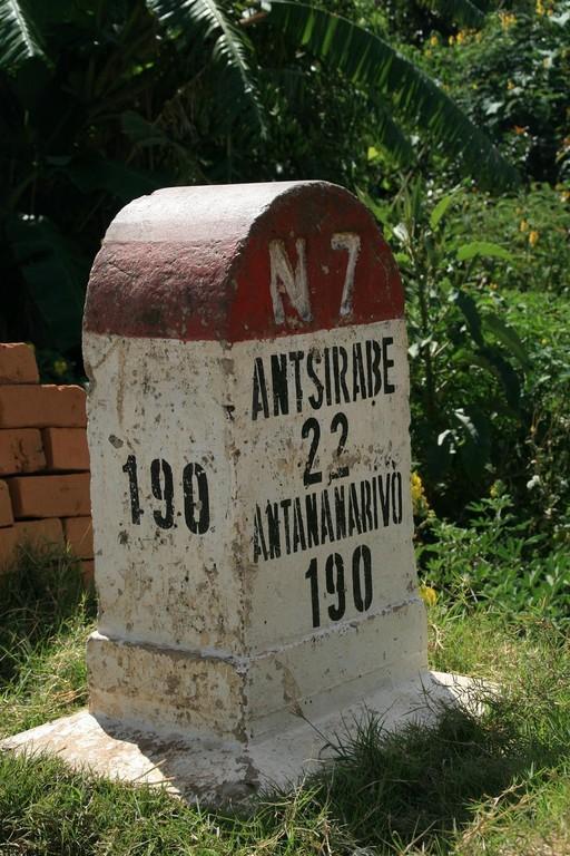 Sur la RN7 après ANTSIRABE.