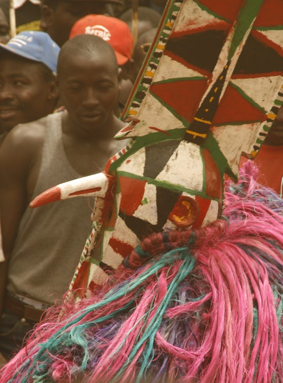 Fête des masques à KORO.