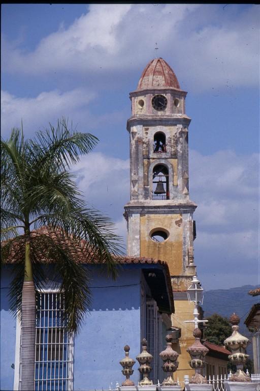 La plus vieille ville du nouveau monde à TRINIDAD.
