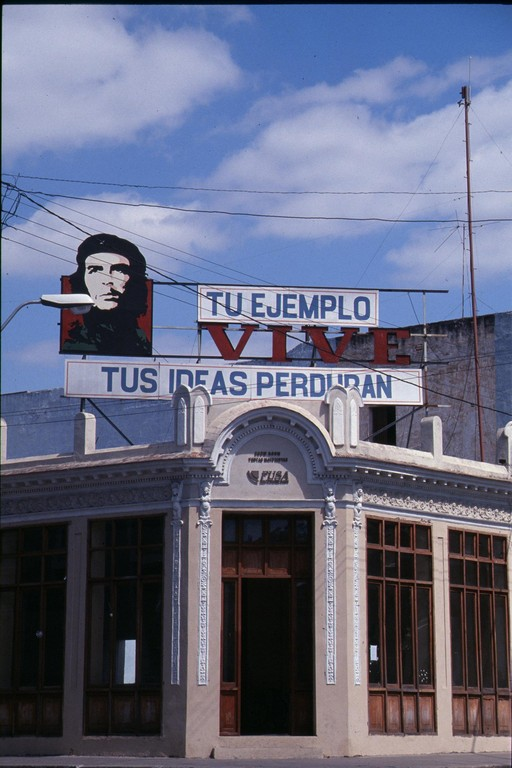 Partout le Che à SANTA CLARA.