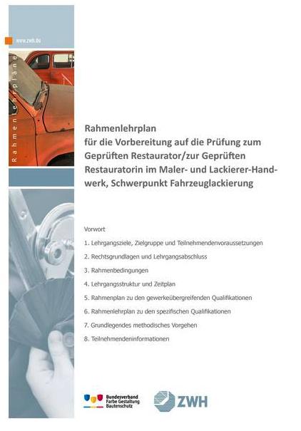 Der Bundesverband informiert: Fortbildungsabschluss: Geprüfter Restaurator im Handwerk, Geprüfte Restauratorin im Handwerk in DQR 7 eingestuft