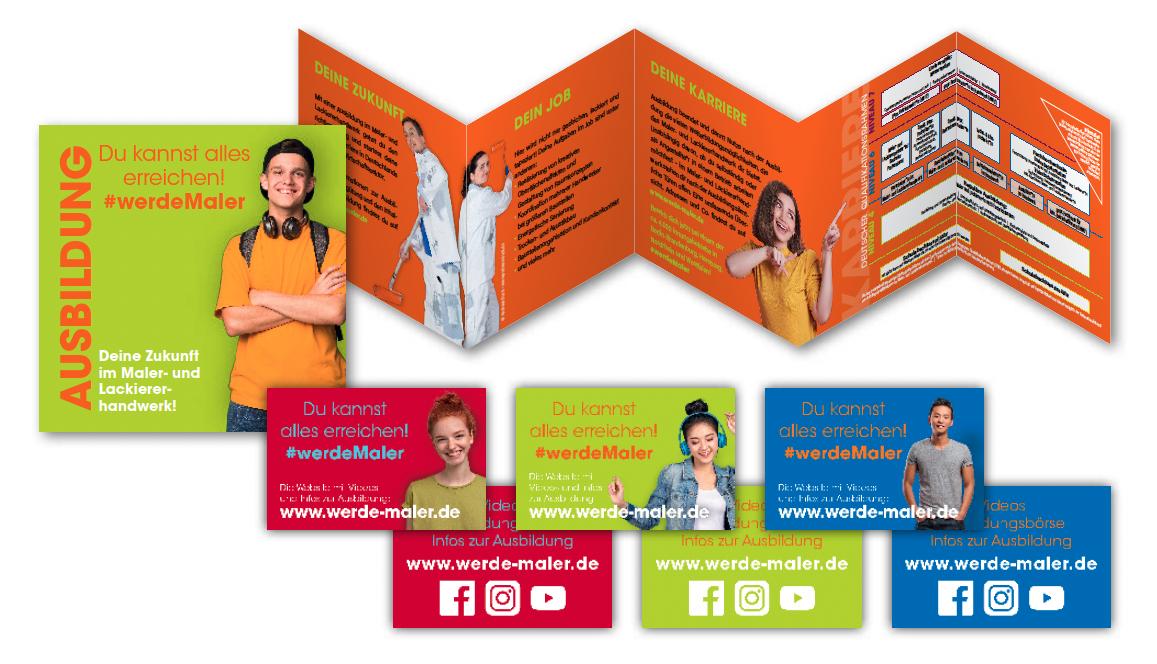 #werdeMaler – Neue Werbemittel zur Nachwuchskampagne des Maler- und Lackiererinnungsverbandes Westfalen