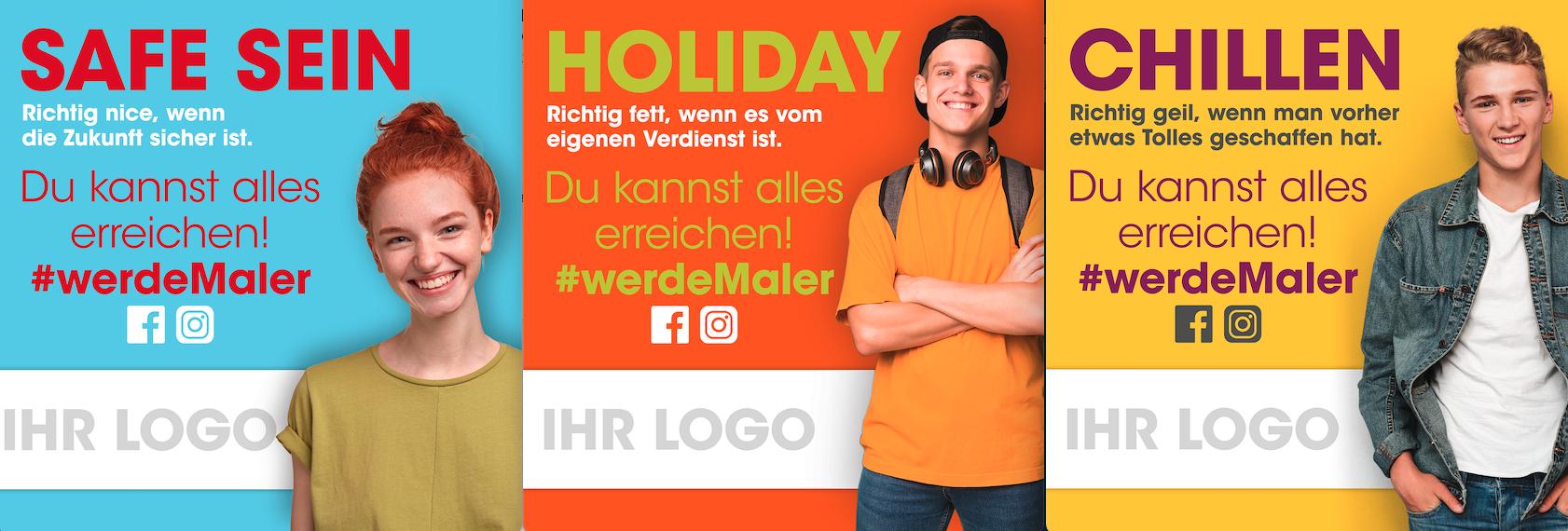#werdeMaler – Jetzt noch sichern: Gerüstplanen zum Aktionspreis– nur für Innungsmitglieder –