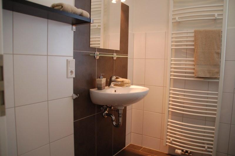 Badkamer bij de 3 slaapkamers