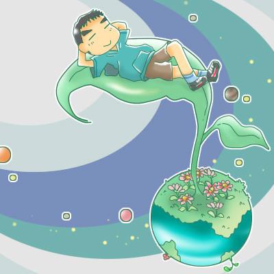 惑星シリーズ「ゆらゆらお昼寝」