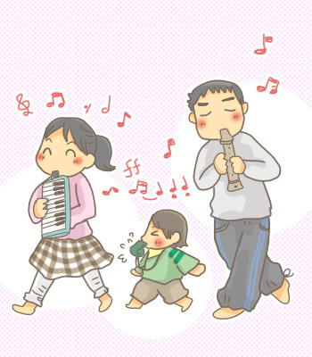 我が家の音楽隊