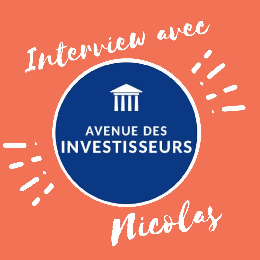 Interview avec Avenue des investisseurs