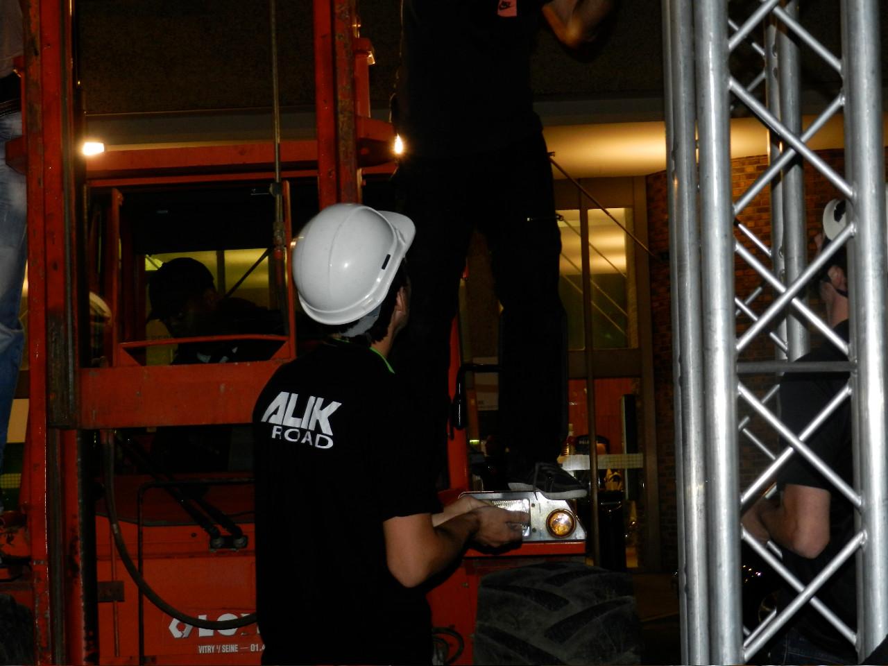 Alik Road - Prestations de roads et techniciens audiovisuels