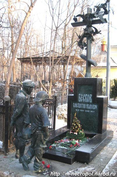 Памятник Константину Бескову