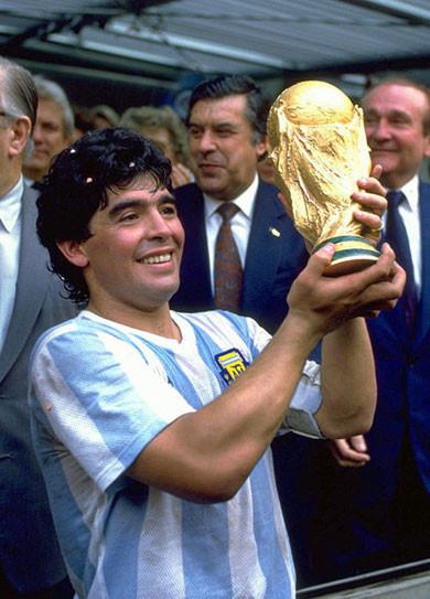 Диего Марадона - чемпион мира