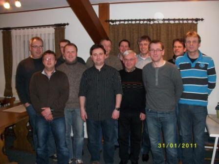 Gründungsfoto 31.01.2011