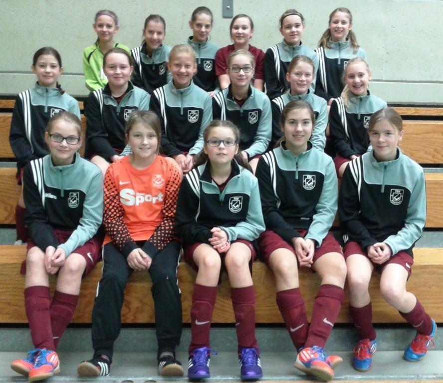 D-Juniorinnen - Aufwärmpullis 2014