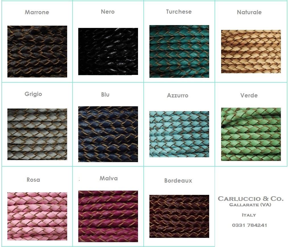 Lacci in cuoio e pelle- Vendita on line - Carluccio   Co. cuoio ... 46ee9f25993