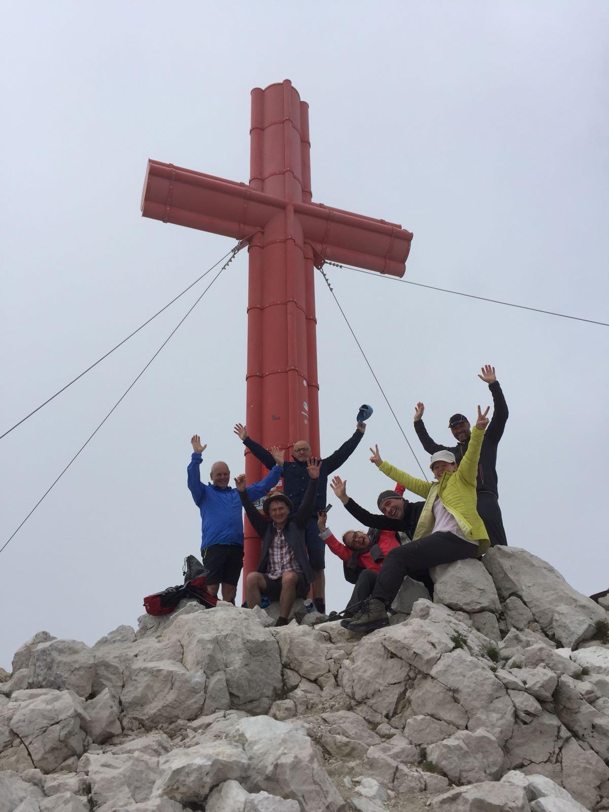 Gipfelkreuz vom Großen Priel