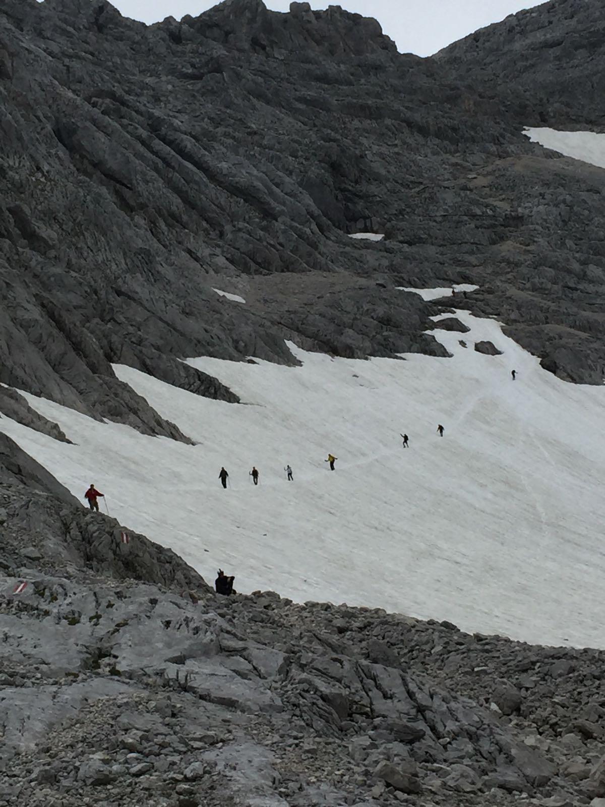 Abstieg vom Großen Priel