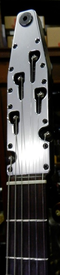 Larsen Guitar Mfg. Headstock. Interesting details!