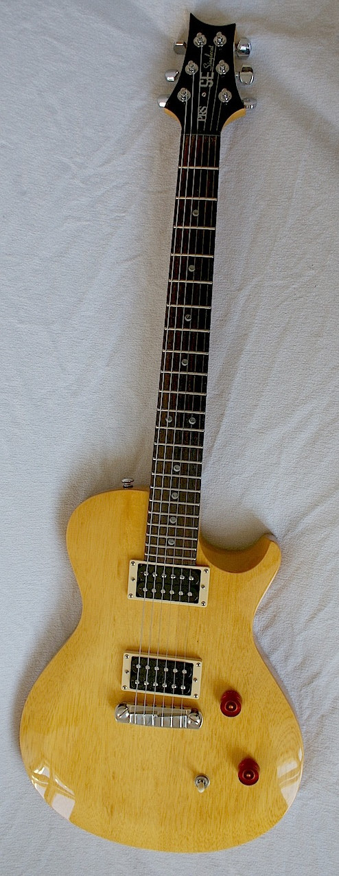 PRS SE Korina 2 (Korea 2012?) Primitive but simple. Very nice!