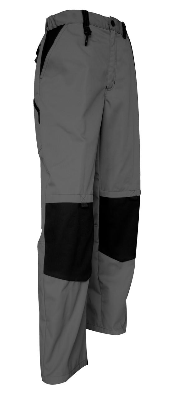 Pantalon de travail bicolore Plomb