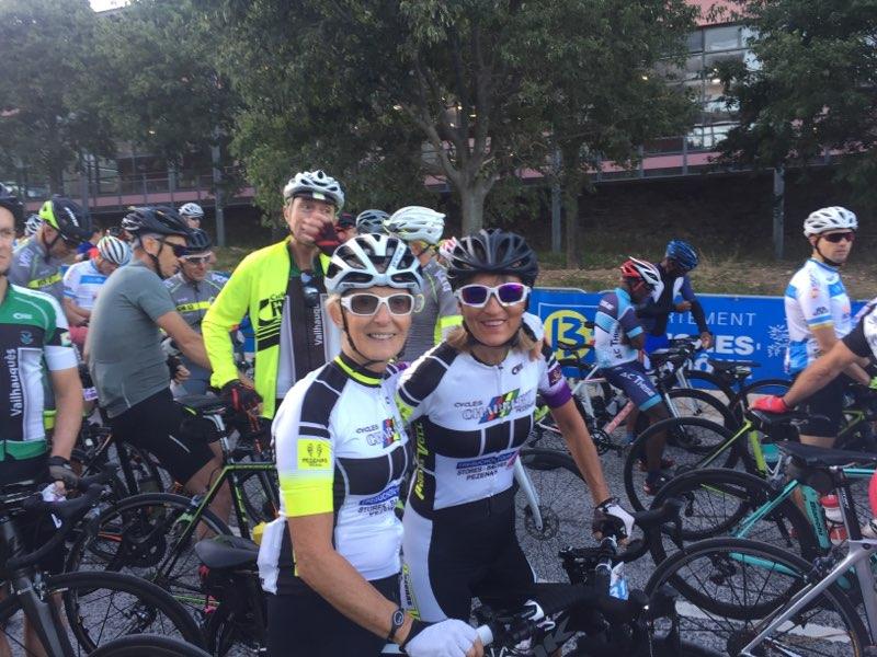 """(19.09.29) Des Piscénois à la Cyclo-sportive """"Les Bosses de Provence"""""""
