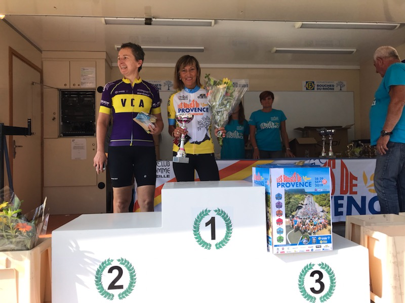 """(19.09.29) Des Piscénois à la Cyclo-sportive """"Les Bosses de Provence""""."""