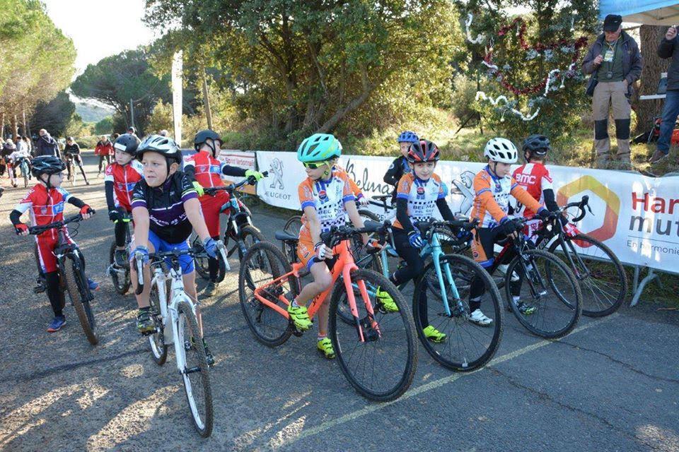 Cyclo-cross du Comité de l'Aude à Bizanet (11 Aude).