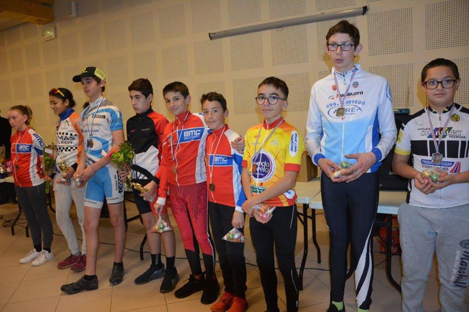 Cyclo-cross du Comité de l'Aude à Bizanet  (11 Aude)