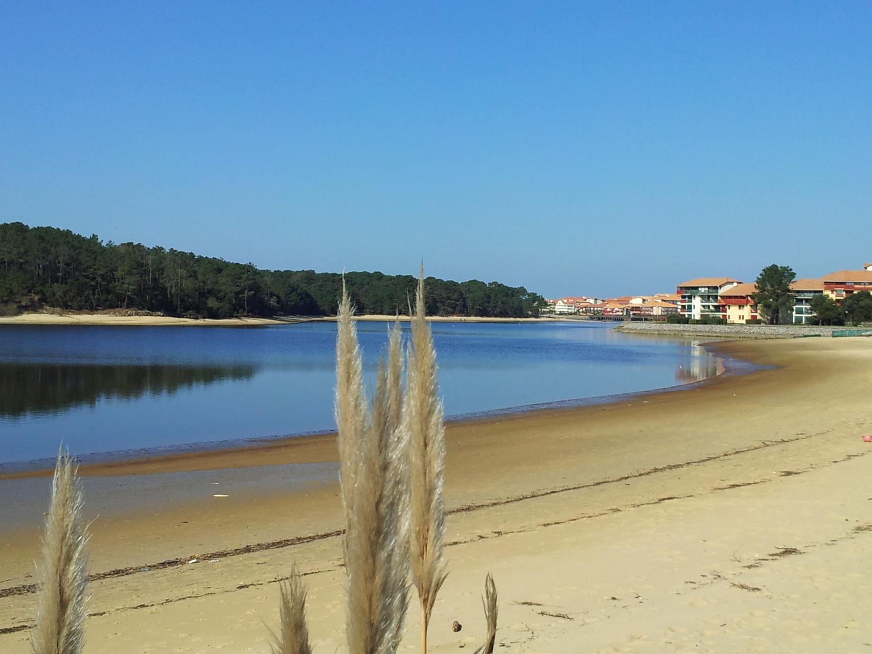 Promenade et piste cyclable au bord du lac location vacances WIFI