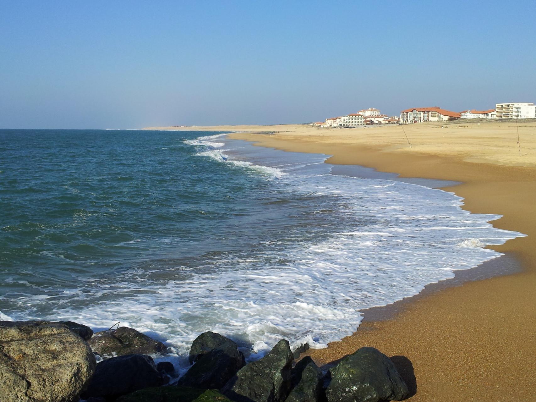location villa proche Plage océane landaise 7 km de sable blond...