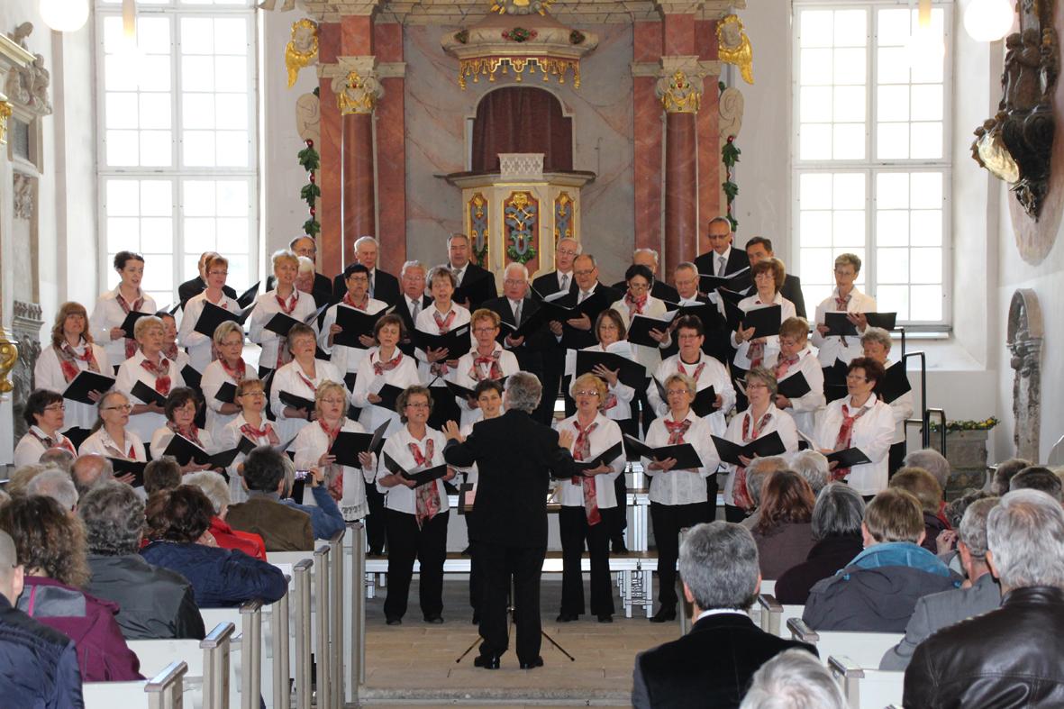 Konzertchor Riesa e.V. unter Leitung v. Prof. Jürgen Becker 2016