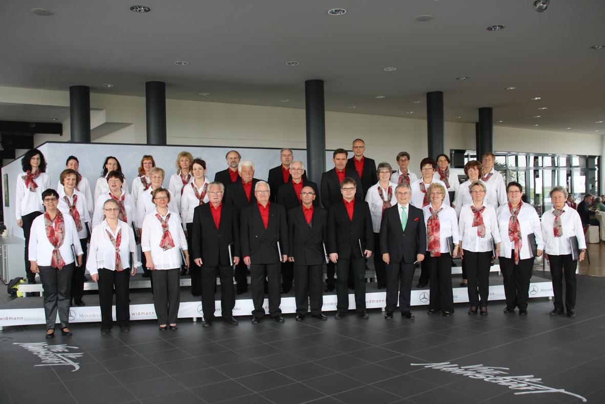 Frühlingskonzert im Autohaus Bruno Widmann in Zeithain 2016