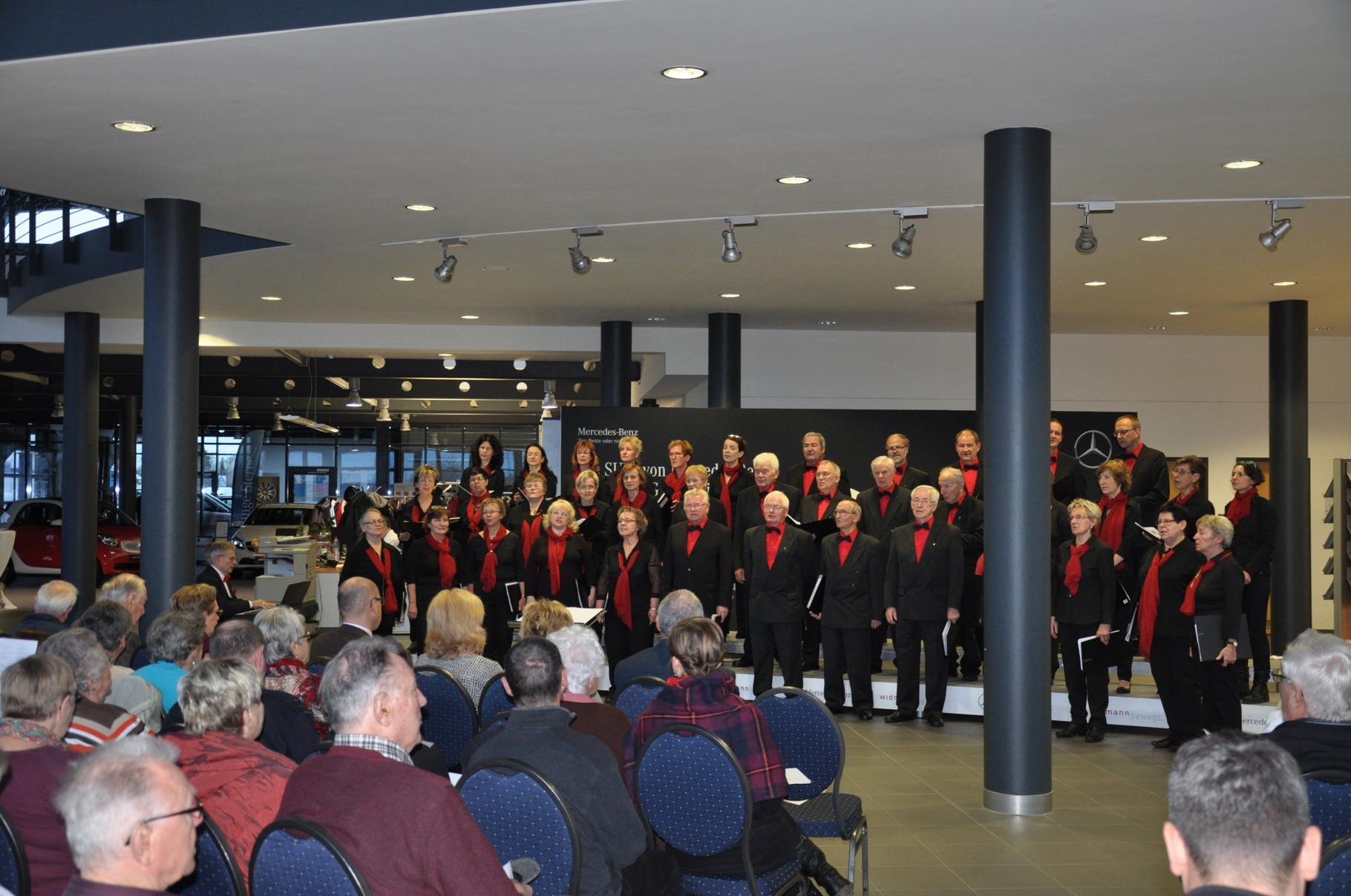 Adventskonzert im Autohaus Widmann 2015