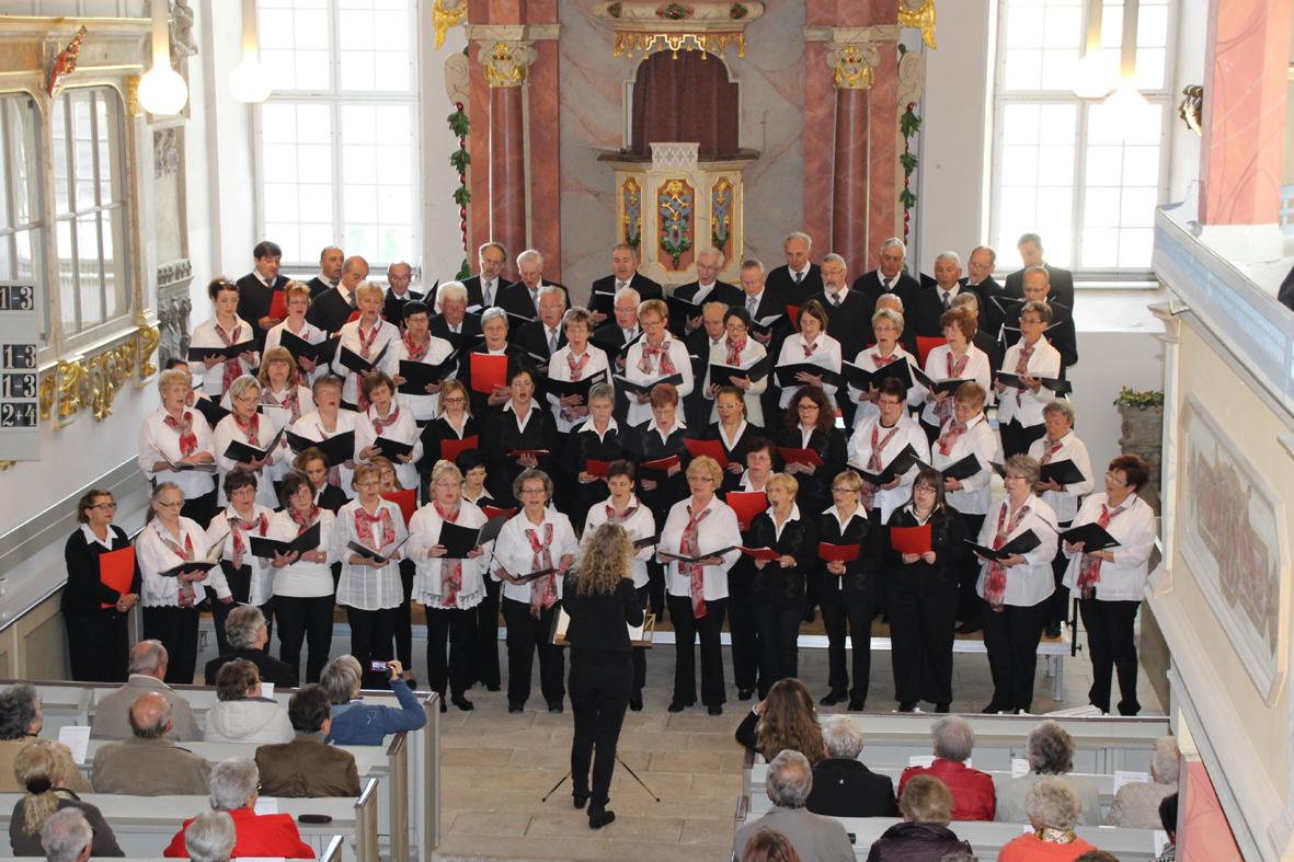 Coro de Basilica di Lonato und Konzertchor Riesa e.V. unter Leitung v. Christiane Thamm 2016