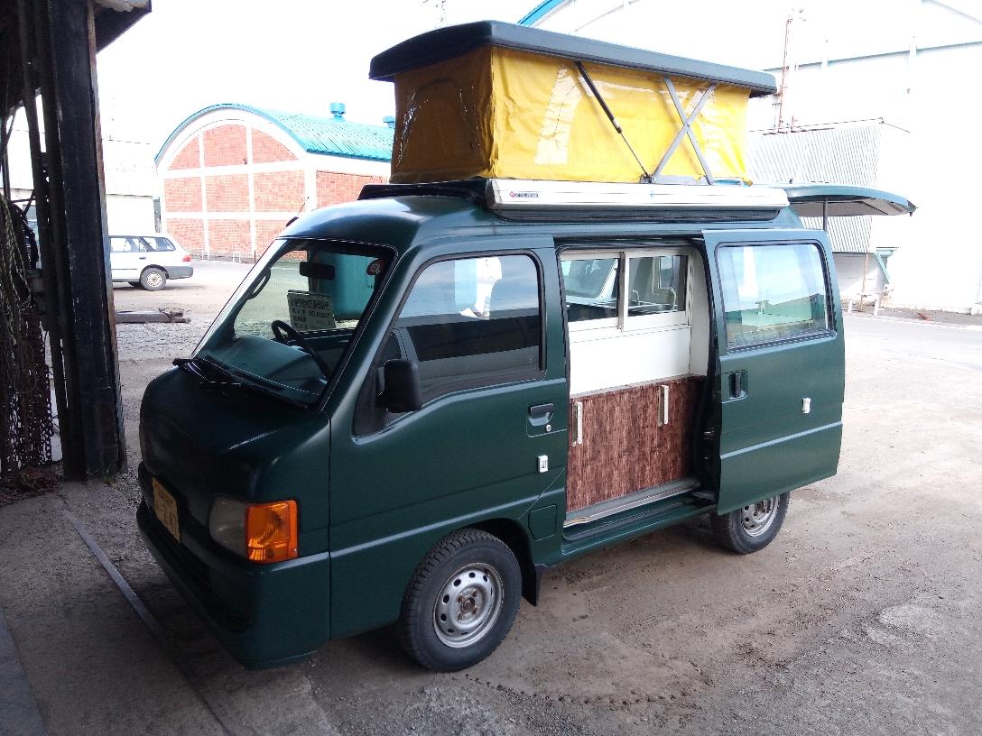 「ippo」で購入した、被災者支援に使用するキッチンカー