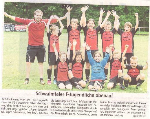 Oberhessiche Zeitung Alsfeld vom 29.07.2015