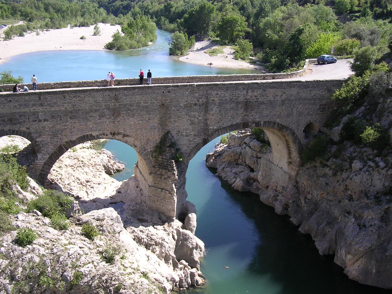 Le Pont du Diable sous nos fenêtres