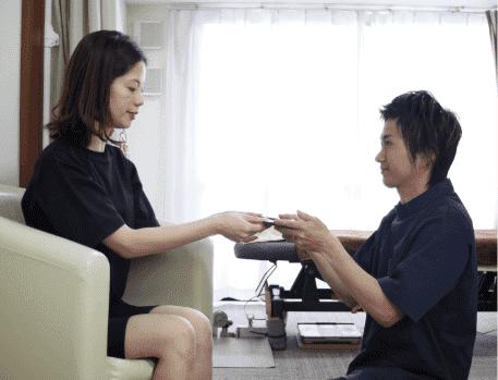 大阪下半身ダイエット専門整体サロンのお会計の写真
