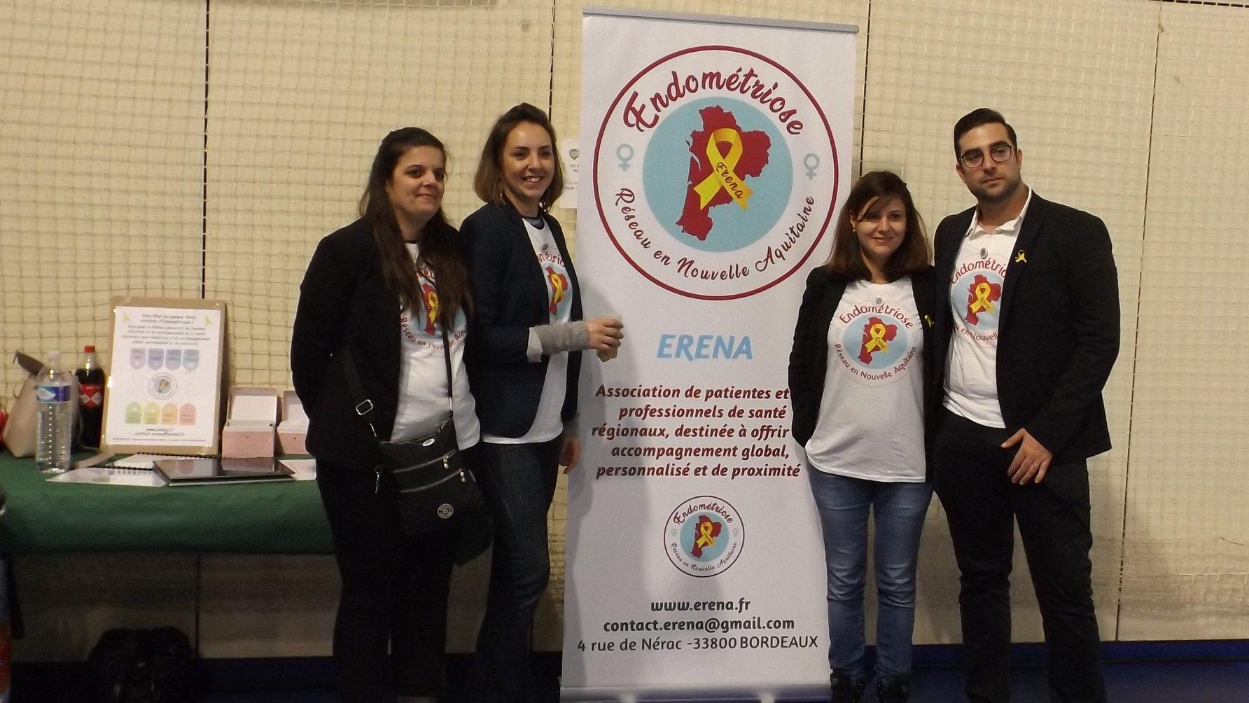 Fondée en janvier 2019, la toute jeune association Erena espère développer un réseau associatif de patientes et de professionnels de santé régionaux pour mettre en place un accompagnement individuel et de proximité