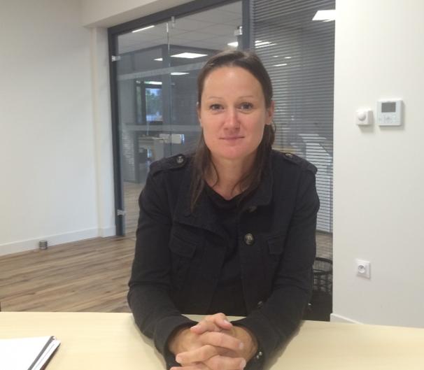 Christelle Joucla, responsable des services techniques de la CdC.